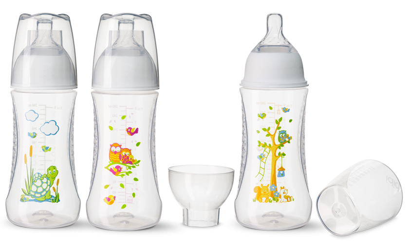 bibi Happiness Natural Zuigfles Play With Us 260ml